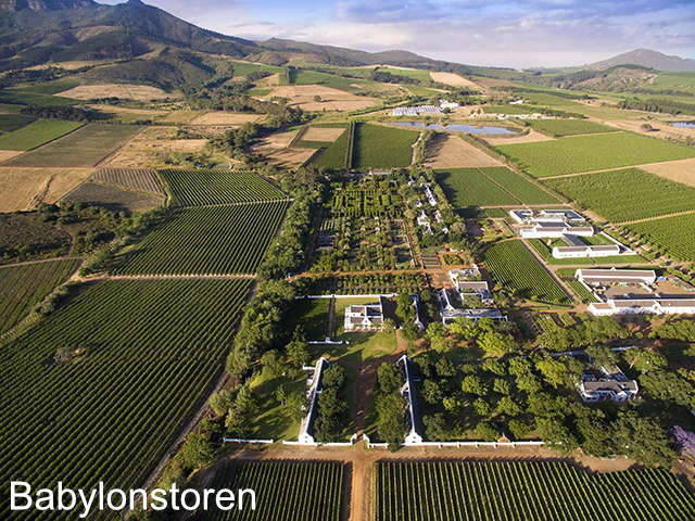Enjoy wineries in South Africa